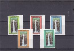 Zaïre - COB 870 / 74 ** - MNH - NON Dentelés - Chutes D´eaux - Valeur 13,50 Euros - 1971-79: Mint/hinged