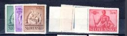 1941 Y 61 à 66 ** Les 2 Series Complètes - Unused Stamps
