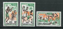 Niger Y&T N°114 à 116 Neufs Avec Charnière * - Niger (1960-...)