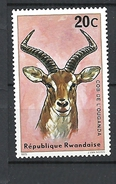 RWANDA 1975 Antelopes MNH - Rwanda
