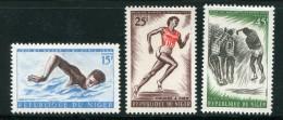 Niger Y&T N°120 à 122 Neufs Avec Charnière* - Niger (1960-...)