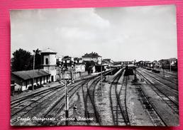 1954 CASALE MONFERRATO INTERNO STAZIONE / ALESSANDRIA / BAHNHOF / Station Train - Estaciones Sin Trenes