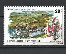 RWANDA  1975 Protection Of Nature MNH - Rwanda