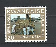 RWANDA  1975 Year Of Increased Production MNH - Rwanda
