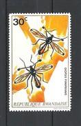 RWANDA  1973 Insects    MNH - Rwanda