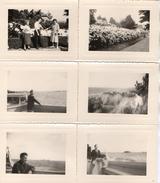 PHOTO 383 - Série De 17 Photos Originales 8,5 X 6 - 10,5 X 8 - Famille Frepp De VILLEPARISIS En Bretagne - A Situer - Lugares
