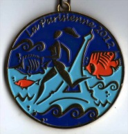 Médaille Marathon : La Parisienne 2012 Avec Ruban Authentique - France