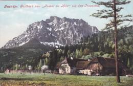 """Gmunden - Gasthaus Zum """"Franzl Im Holz"""" Mit Dem Traunstein (937) * 1908 - Gmunden"""