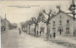 Essonne, St Chéron, Place Edmond Vian Et Route De Versailles - Saint Cheron