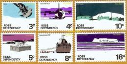 Ross Dépendency, Terre De Ross **LUXE 1979 P 9a à 14a Série 6v - Dépendance De Ross (Nouvelle Zélande)