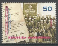 MK 2016-772 ALBANIEN LANGUAGE, MAKEDONIA, 1 X 1v, MNH - Mazedonien