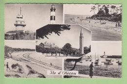 Ile D'Oléron  : Saint Denis, St Trojan, Boyardville, La Cotinière. Multivue. 2 Scans. Edition Cap Format CPA - Ile D'Oléron