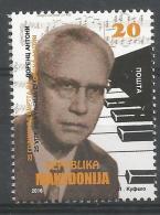 MK 2016-775 LORENC ANTONIO, MAKEDONIA, 1 X 1v, MNH - Mazedonien