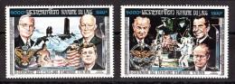 LAOS - 1975 - Poste Aérienne N° 119A Et 119B - Neufs ** - 200 Ans Indépendance Des Etats Unis - Laos