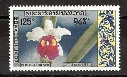 LAOS - 1971 - Poste Aérienne N° 79 - Neuf ** - Fleur - Cattleya Du Brésil - Laos