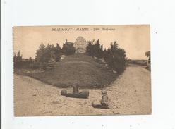 BEAUMONT HAMEL (SOMME) 29 TH DIVISION    1937 - France