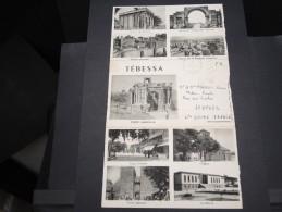FRANCE / ALGÉRIE - Carte Lettre Illustrée De Tébessa En Franchise Militaire Pour La France En 1958 - A Voir - L  3647 - Algeria (1924-1962)