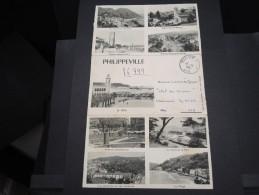 FRANCE / ALGÉRIE - Carte Lettre Illustrée De Philippeville En FM Pour SP 69212 En 1961 - A Voir - L  3648 - Algeria (1924-1962)