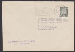 """Rostock MWSt. 1959 """"50 Jahre Gewerkschaft Land Und Forst"""", Labor Union, - DDR"""