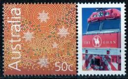 Australia 2004 The Ghan - Train Journey Central Australia With 50c Southen Cross MNH - 2000-09 Elizabeth II