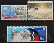 TAAF 1995 Poste Aérienne - Année Compléte - Du N° 134 Au N° 136 - 3 Timbres NEUFS** - Parfait Etat - Poste Aérienne