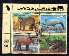 United Nations/Vienna - 1997 - Endangered Species (5th Series) - Used/CTO - Gebraucht
