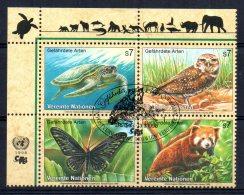 United Nations/Vienna - 1998 - Endangered Species (6th Series) - Used/CTO - Gebraucht