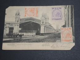 PARAGUAY - Carte Postale De Asuncion En 1905 Pour La France , Affranchissement Plaisant - A Voir - L  3664 - Paraguay