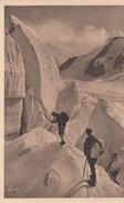 G , Cp , SPORTS , MASSIF Du MONT-BLANC , Glacier De Tré La Tête , Dans Les Séracs Du Glacier - Mountaineering, Alpinism