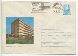 Miercurea Ciuc - Hospital  - Stationery (stamp : Romanian Coat Of Arms) - Autres