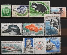 TAAF 1994 Année Compléte -  Du N° 184 Au N° 193A - 10 Timbres NEUFS** - Parfait Etat - - Terres Australes Et Antarctiques Françaises (TAAF)