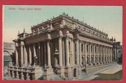 Malta  --  Royal Opera House - Malte