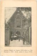 02 ST / SAINT QUENTIN - ANCIENNE CHAPELLE DES CAPUCINS AFFECTEE AU CULTE PROTESTANT EN 1833 DETRUITE PENSANT LA GUERRE - Saint Quentin