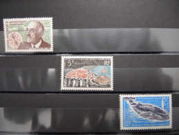 TAAF - N° 19, 20 Et 22 Luxes - Cote : 164 - A Voir - P20817 - Unused Stamps