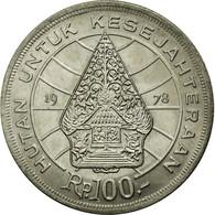 Monnaie, Indonésie, 100 Rupiah, 1978, TTB+, Copper-nickel, KM:42 - Indonésie