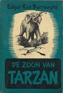 DE ZOON VAN TARZAN - EDGAR RICE BURROUGHS - TARZAN PAPERBACK GRAAUW ( OLIFANT ÉLÉPHANT ) - Sci-Fi And Fantasy