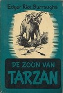 DE ZOON VAN TARZAN - EDGAR RICE BURROUGHS - TARZAN PAPERBACK GRAAUW ( OLIFANT ÉLÉPHANT ) - SF & Fantasy
