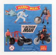 MC DONALD'S - 2001 -  Cartina Sorpresa Happy Meal -  (FDC901) - Istruzioni