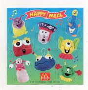 MC DONALD'S - 2000 -  Cartina Sorpresa Happy Meal -  (FDC902) - Istruzioni