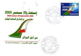 ALGERIE  ALGER   Referendum Du 29 Septembre 2005  29/0905 - Algeria (1962-...)