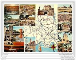 CARTE GEOGRAPHIQUE DU GARD - Mapas