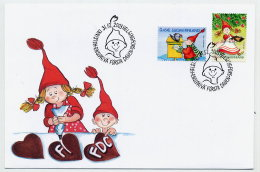 FINLAND 2003 Christmas FDC.  Michel 1676-77 - Finland