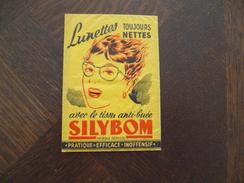 Sachet Publicitaire Illustré Tissu Anti Buée Silybom - Reclame