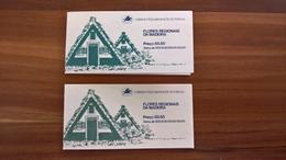 Markenheft Regionale Pflanzen, 1 X Postfrisch Und 1 X Ersttag/Flores Regionais Da Madeira 1981 - Madère