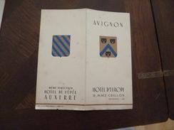 Publicité Hôtel D'Europe Avignon Chats - Publicités
