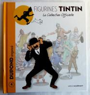 Livre FIGURINES TINTIN - Moulinsart TF1 - N°04 - DUPOND Engoncé - Tintin
