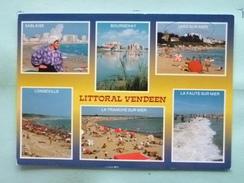 V08-85--vendee-littoral Vendeen-sablaise-bourgenay-jard Sur Mer-longeville-la Tranche Sur Mer La Faute Sur Mer--multivue - France