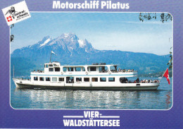 Ak Vierwaldstättersee, Motorschiff Pilatus - Ferries