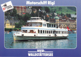 Ak Vierwaldstättersee, Motorschiff Rigi - Fähren