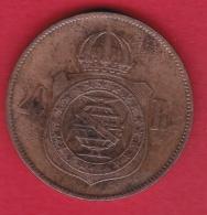 Brésil - 20 Reis  - 1869 - Brazil